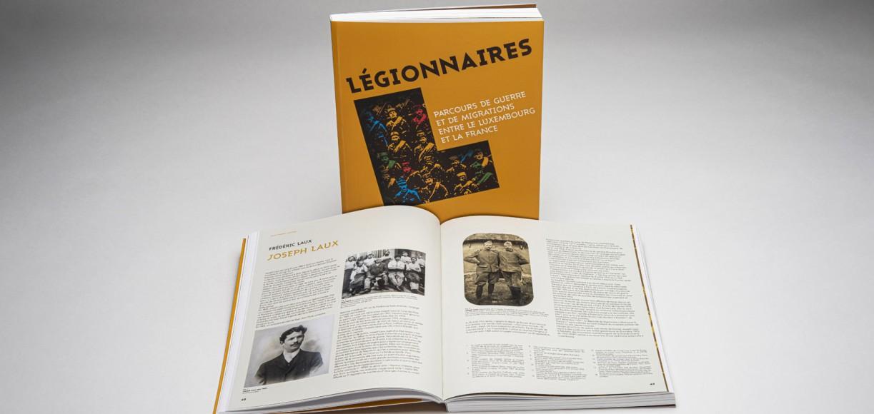 """Livre """"Légionnaires"""""""
