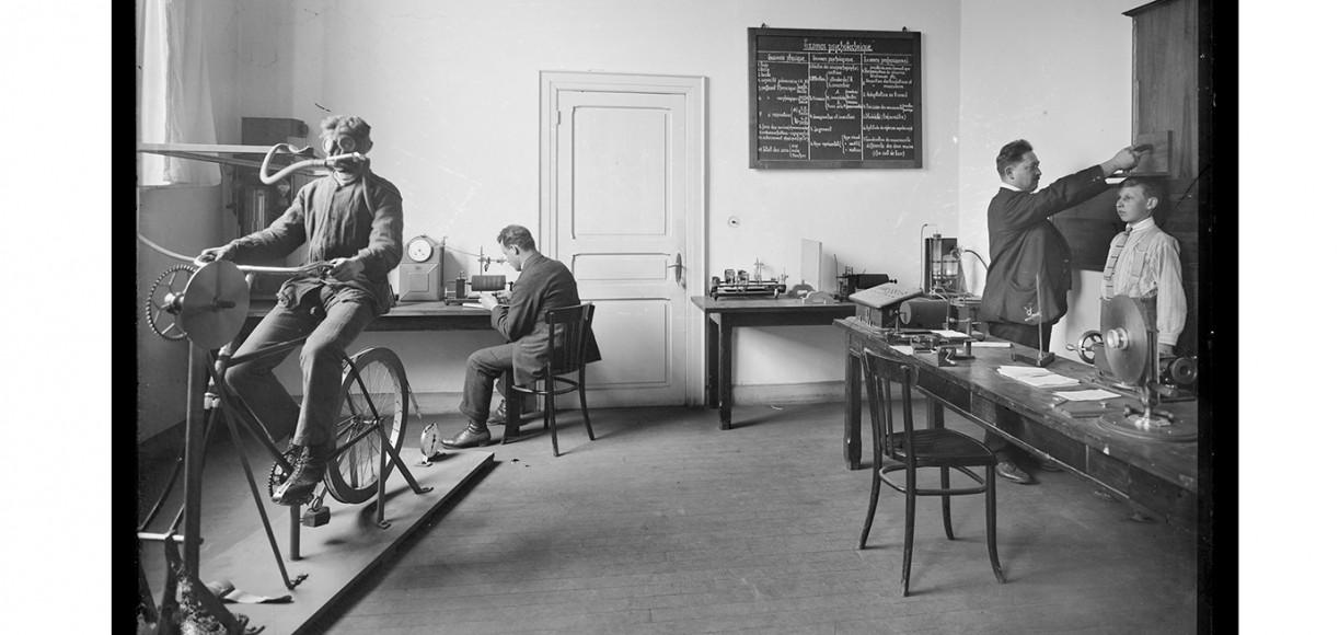 Le laboratoire psychotechnique de l'Institut Emile Metz