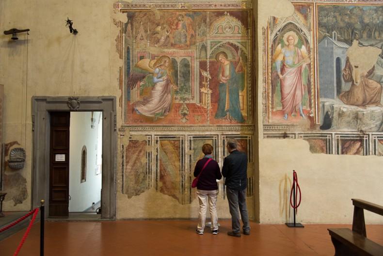 Arezzo paintings