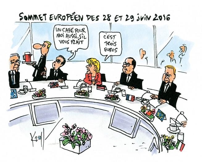 Press cartoon by Pierre Kroll on Brexit