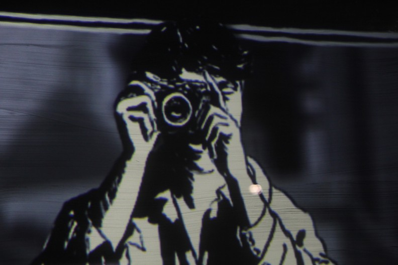 Video installation Tony